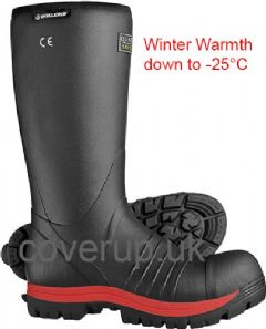 SKELLERUP QUATRO SUPER SAFETY INSULATED WELLINGTON THERMAL WELLIES